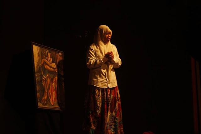 10 Komunitas Teater Unjuk Aksi dalam Festival Monolog 2016 Se-Jawa Tengah