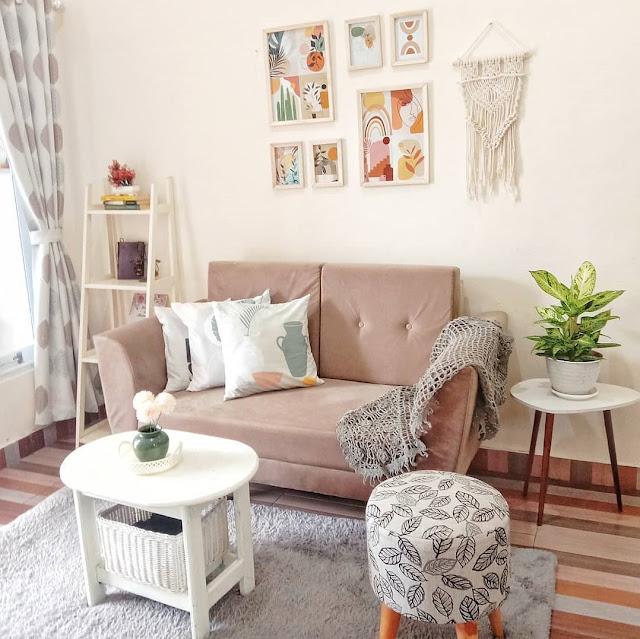 Dekorasi Ruang Tamu Minimalis Sederhana tapi Menarik
