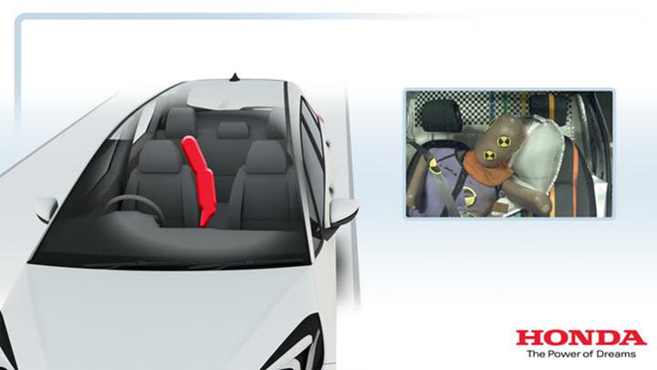 Honda Jazz 2020 có thêm túi khí trung tâm chưa từng thấy ở Việt Nam
