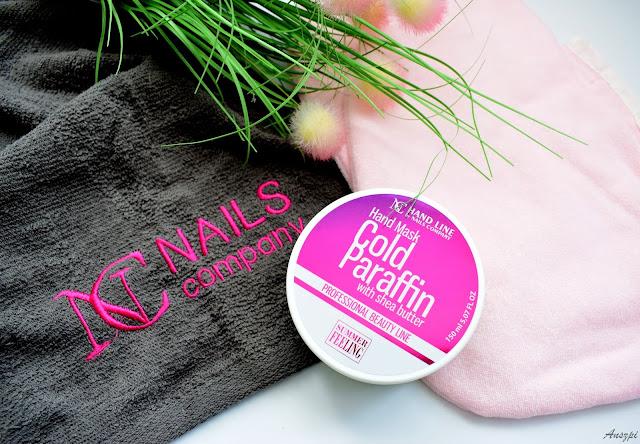 Zabieg na dłonie- parafina na zimno NC Nails Company