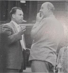 Bob Wake and Doug McLellan ASIO surveilance photograph