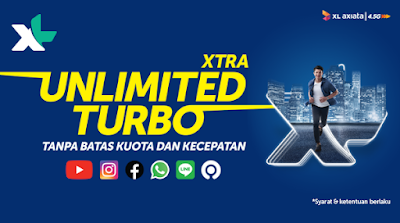BLOGGER NEWS | XL LUNCURKAN PAKET DATA UNLIMITED KUOTA 2020