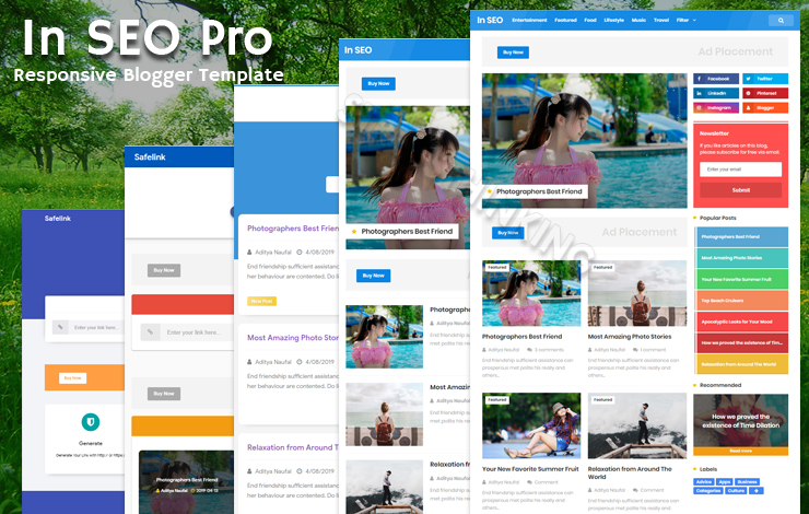 India SEO Pro Responsive Blogger Template