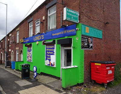 Londi's Londis shop on the Ripponden Road in Oldham