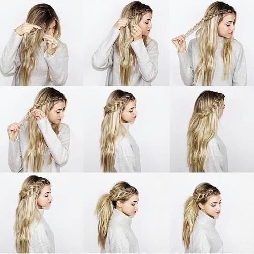 8 peinados para bodas paso a paso 8 hairstyles for weddings moda en un link - Como hacer peinado para boda ...