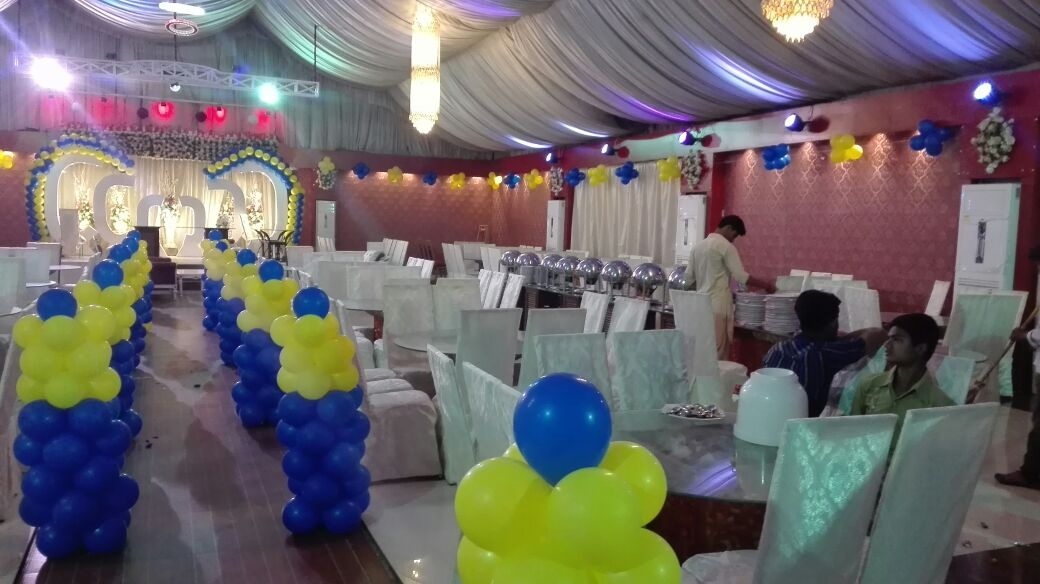 The Ritz Banquet Karachi Birthday Party Decoration Setup Marriage Hall