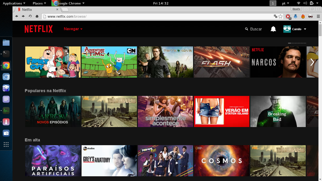 Watch Netflix on Kali Linux 2 0 and Debian 8 | Linux com | The