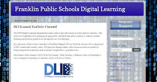 Franklin DLI:  launch a YouTube channel