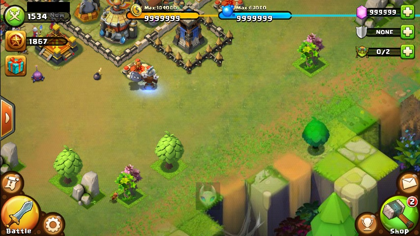 castle clash unlimited gems