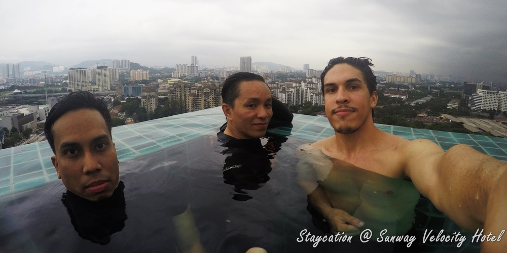 GLAM Staycation, Sunway Velocity Hotel, Kaffeinate, good food, good hotel, infinity pool, Rawlins GLAM