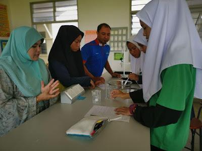 Sesi Pair Teaching bersama Cikgu Zakiah