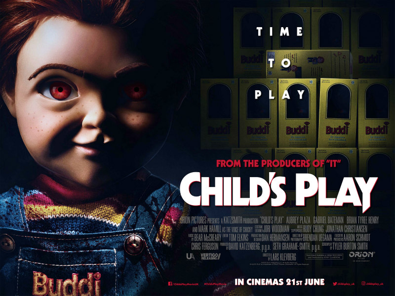 child's play 2019 uk poster