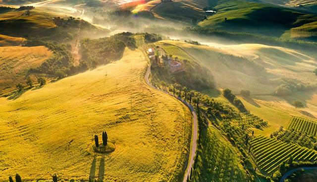Tuscany, miền trung nước Ý xinh đẹp