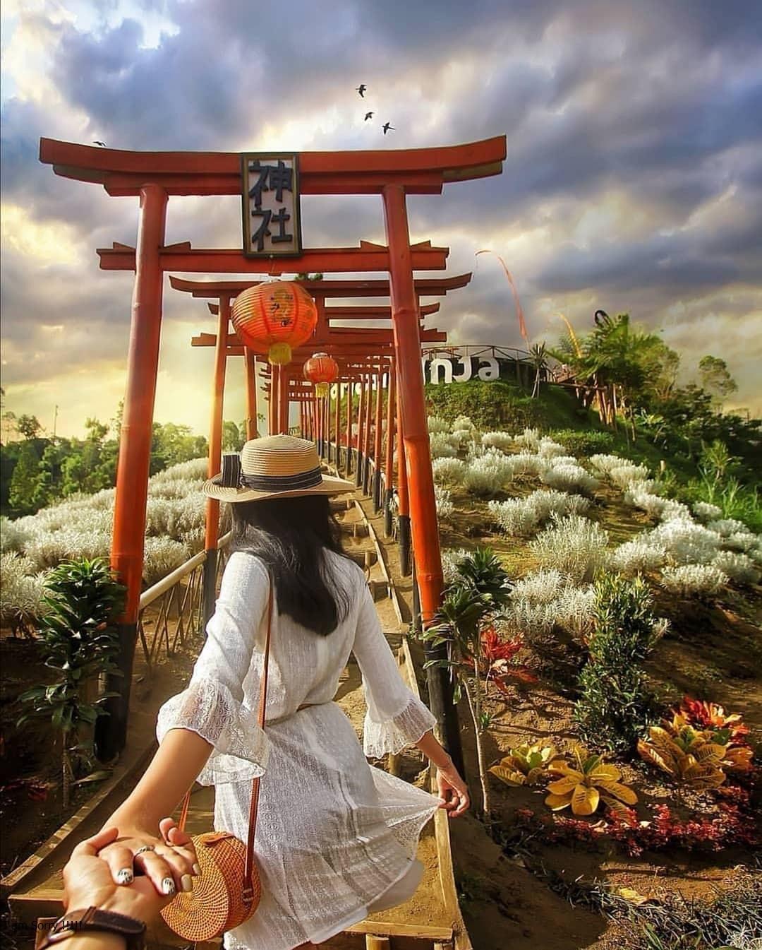 Lokasi dan Tiket Masuk Taman Jinja Bali