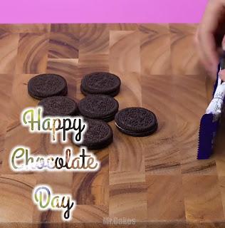 Happy Chocolate Day photo frame