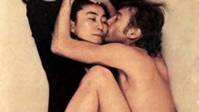 John Lennon y Yoko Ono para la revista 'The Rolling Stone'