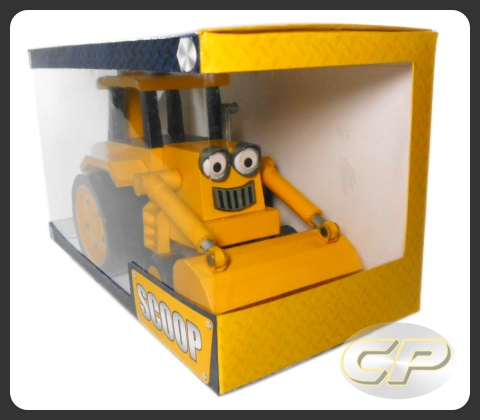 Bob the builder scoop paper model download boxed scoop of bob the builder papercraft sciox Images