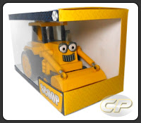 Boxed Scoop of Bob the Builder papercraft