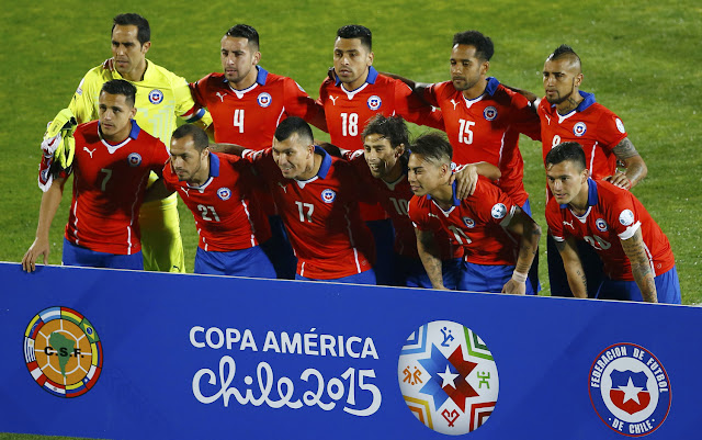 Formación de Chile ante Bolivia, Copa América 2015, 19 de junio