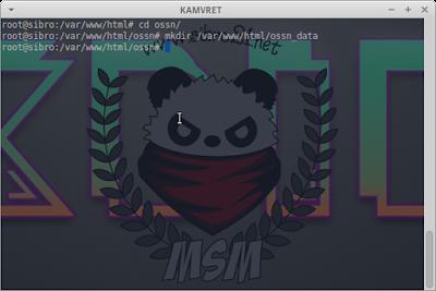 mkdir /var/www/html/ossn_data/