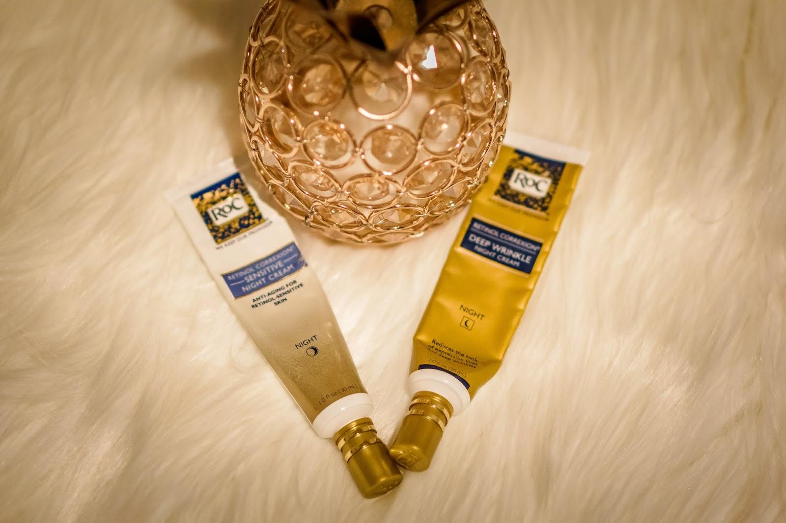 My Skin Care Secret Weapons - Journey towards clear skin; Aim for Glam; Prasanthi Kadiyala; Skin Care; Tatcha Deep Cleanse; Drunk Elephant Vitamin C SErum; TruSkin Vitamin C Serum; Sunday Riley Tidal; RoC Retinol; Olay 7-in-1 moisturizer;