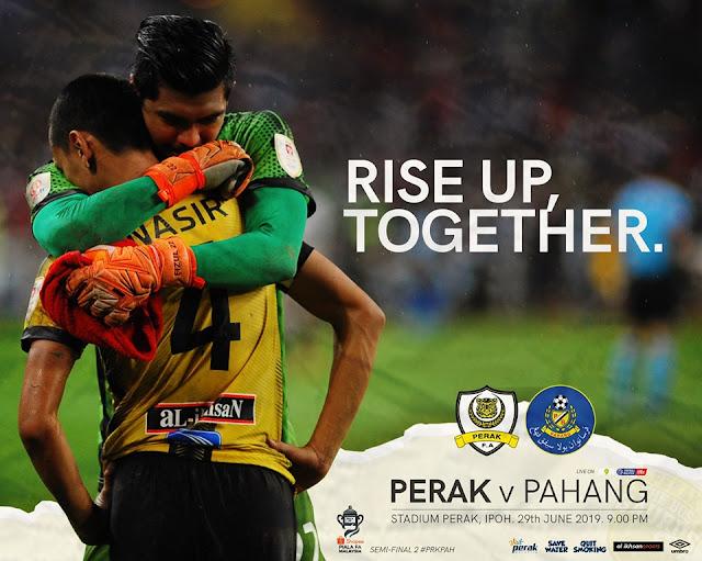 Perak vs Pahang Live Streaming Piala Fa 29.6.2019