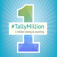 TallyMillion Celebration of Million customer win by Tally