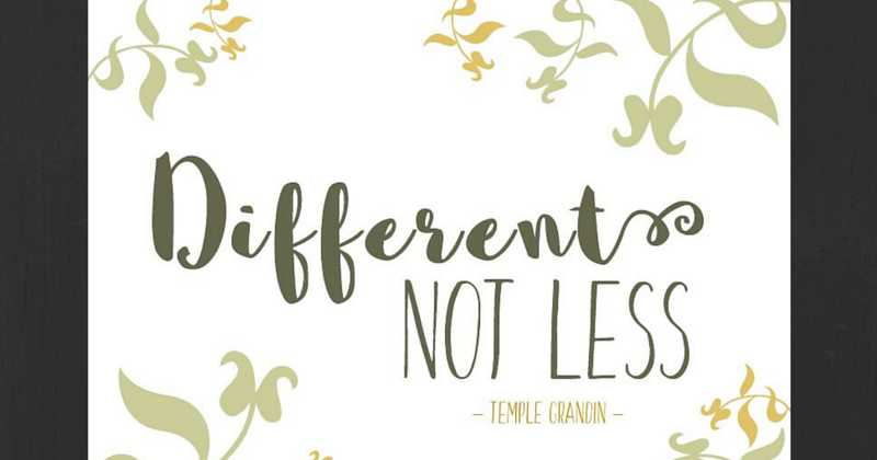 Free Printable Temple Grandin Autism Quote | And Next Comes L