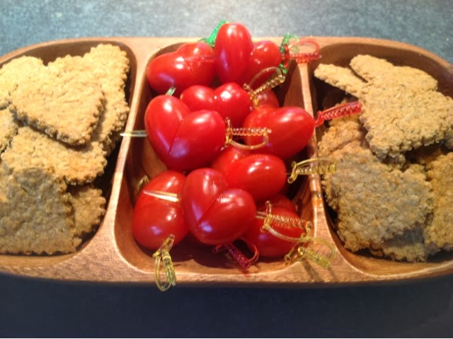 Cherry Tomato Hearts