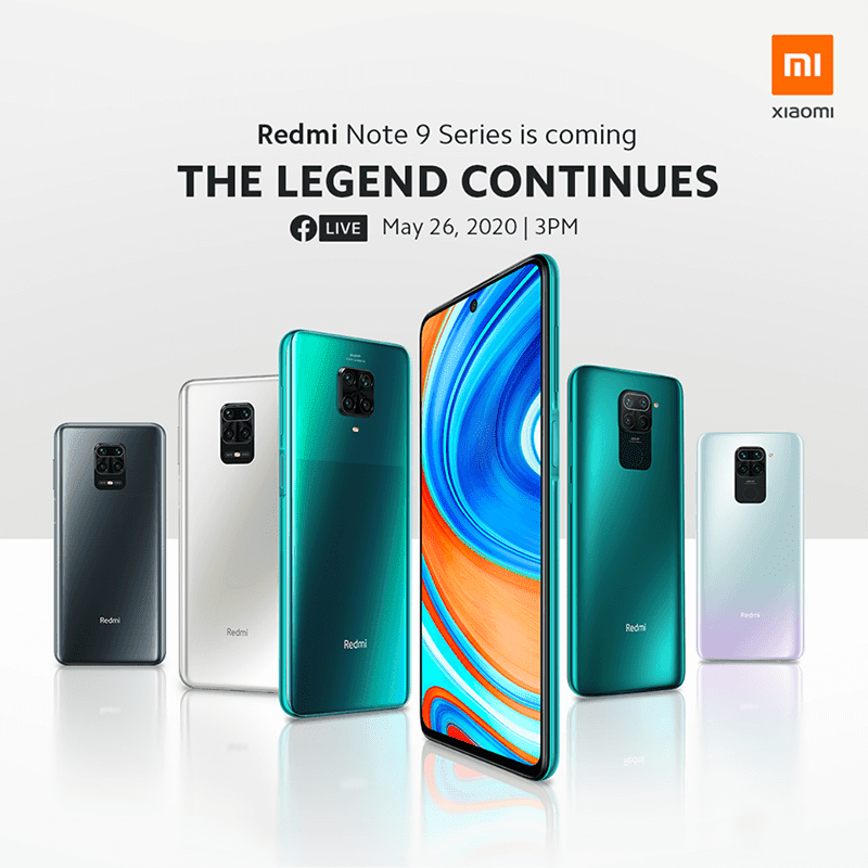 Xiaomi to launch Global Redmi Note 9 and Note 9 Pro in PH on May 26
