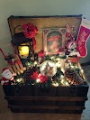 VIntage Χριστουγεννιάτικες Συνθέσεις