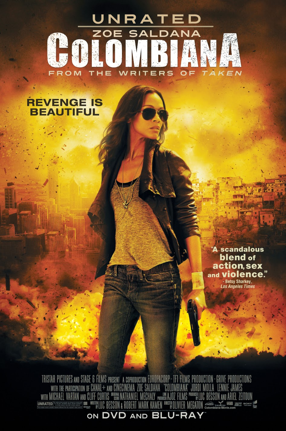 Colombiana (2011) UNRATED ระห่ำเกินตาย