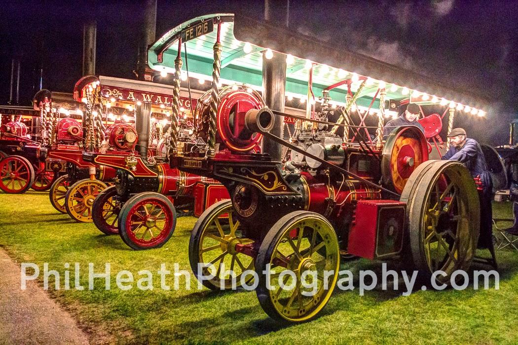 vintage rally & steam