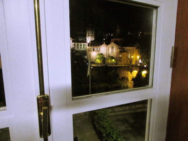 janela com vista para o convento em Amarante