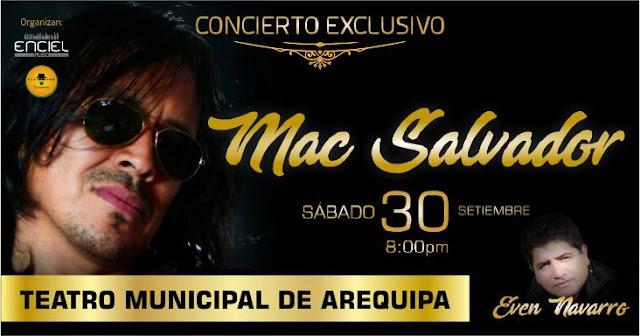 Mac Salvador en Arequipa