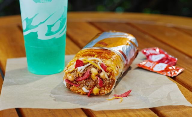 Taco Bell Welcomes New Grilled Cheese Burrito Brand Eating