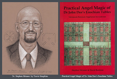 Stephen Skinner. Practical Angel Magic of Dr John Dee's Enochian Tables. Ceremonial Magick. by Travis Simpkins