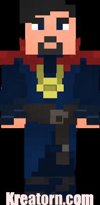 Minecraft Doctor Strange Skin
