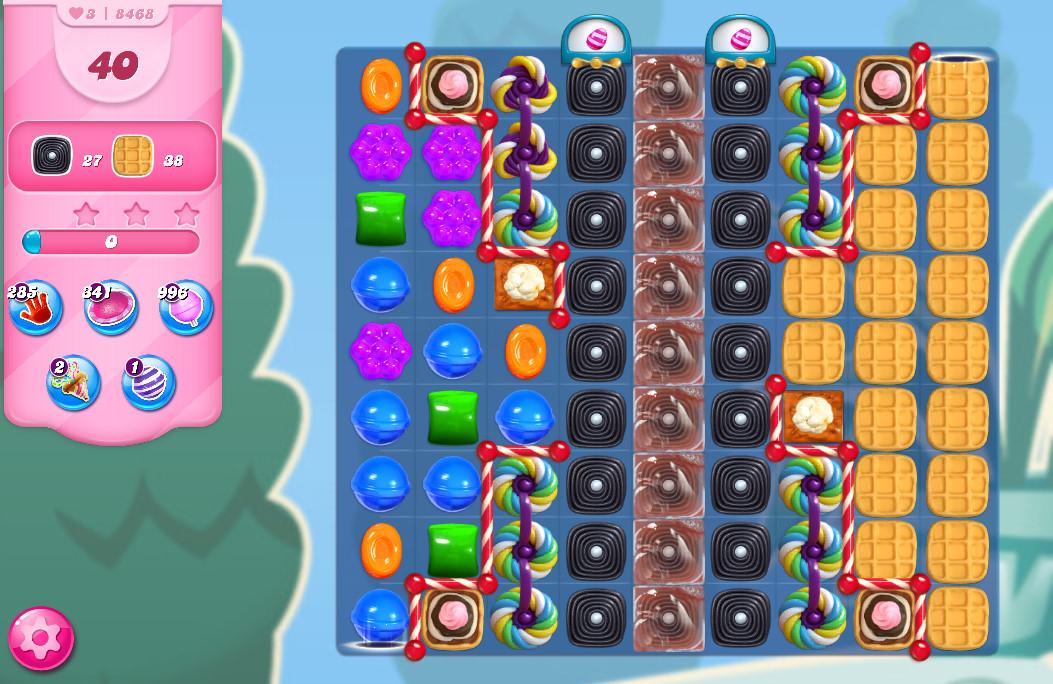 Candy Crush Saga level 8468