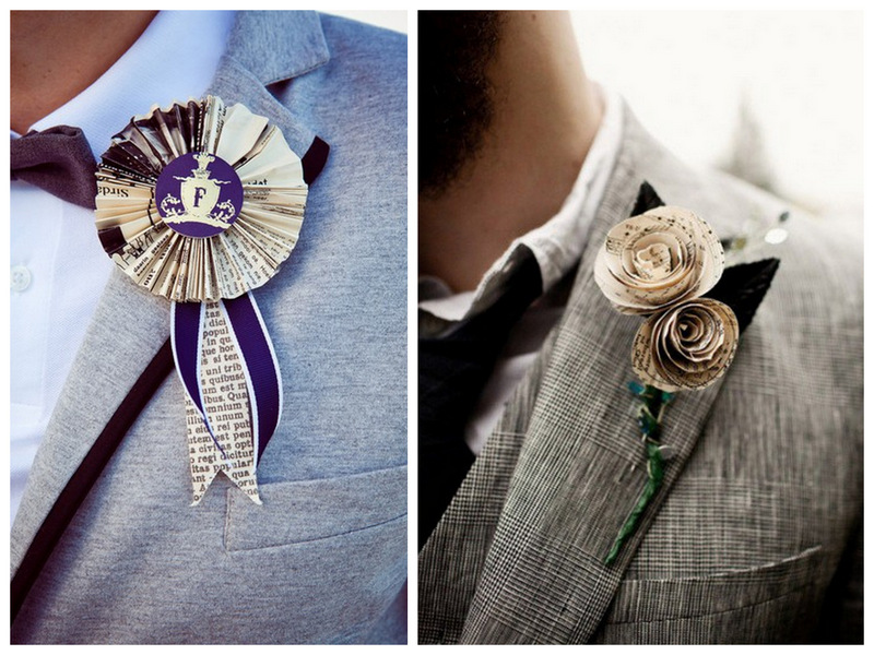 Unique Boutonniere Ideas For The Groom