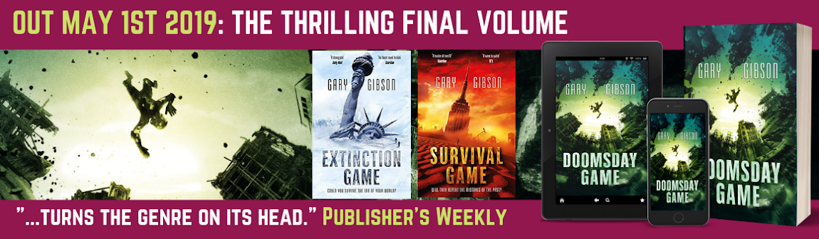 SF writer Gary Gibson