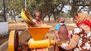 घूंघट में रह कर स्वावलंबी बनती ग्रामीण महिलाएं