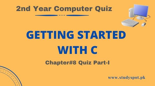 getting started with C MCQs   quiz