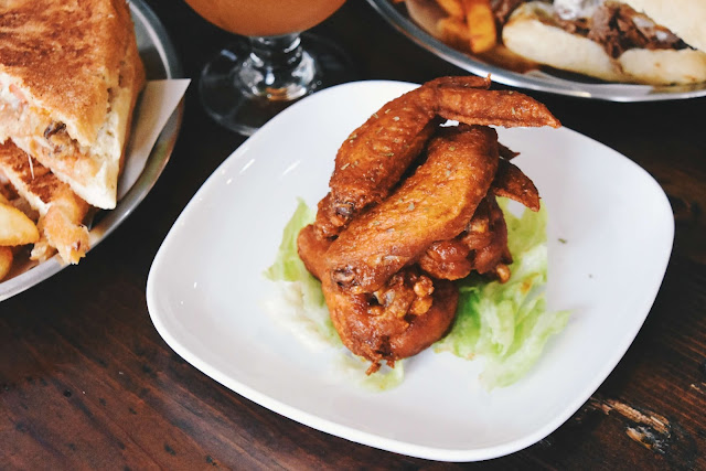 漫高三明治的美式雞翅