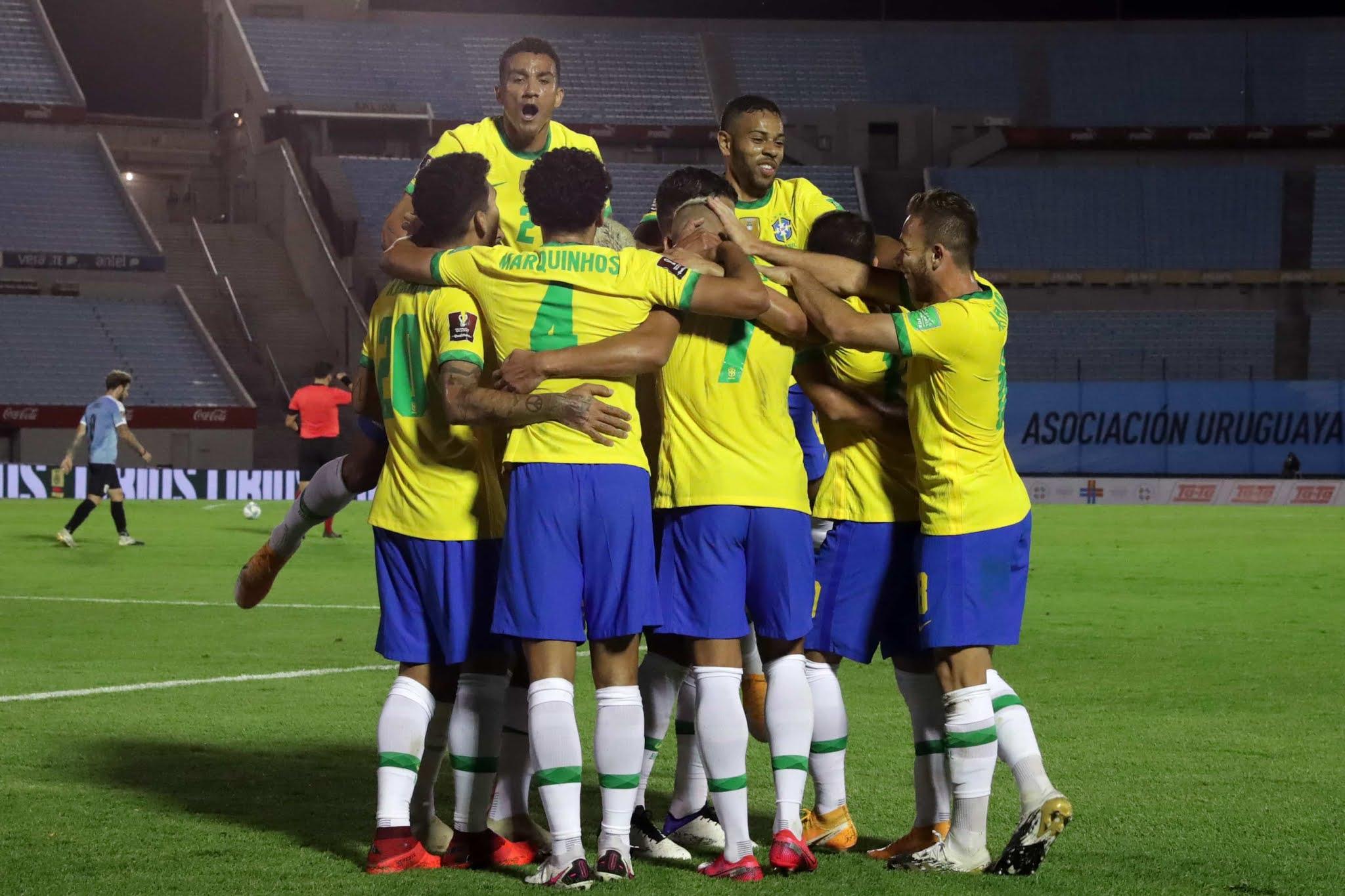 Uruguay vs Brasil Eliminatorias Sudamericanas