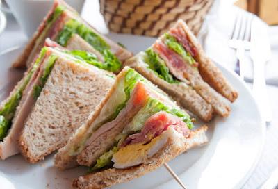 Bekalan Makanan Sihat Untuk Kanak-kanak Sekolah, sandwich sihat, makanan sihat