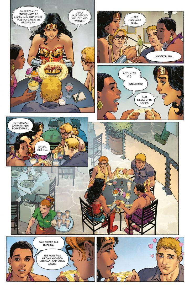 Wonder Woman tom 2: Rok pierwszy strona przykładowa