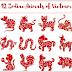 Mười hai con giáp - 12 Zodiac Animals of Việt Nam