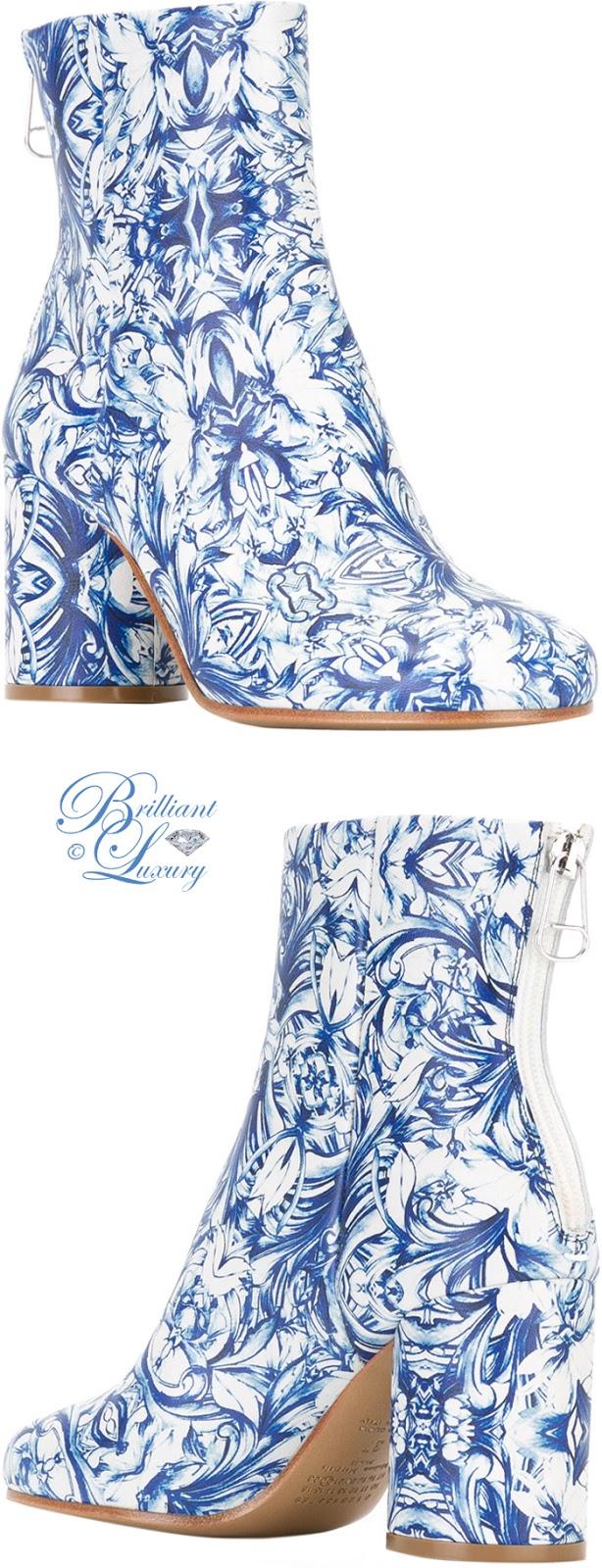 Brilliant Luxury ♦ Maison Margiela China Print Boots