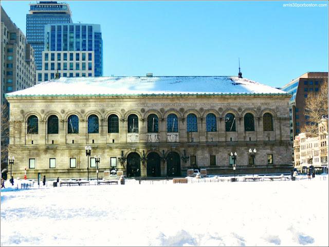 Edificio McKim de la Biblioteca Pública de Boston